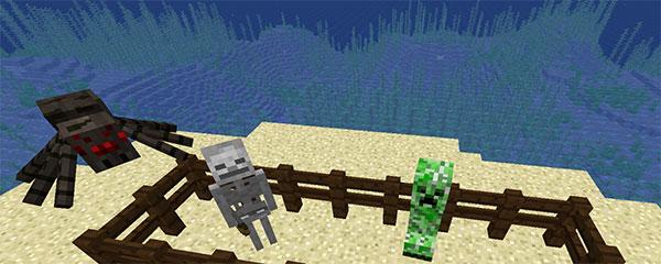 mobs agressifs minecraft